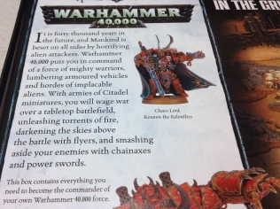 WH40k Lore